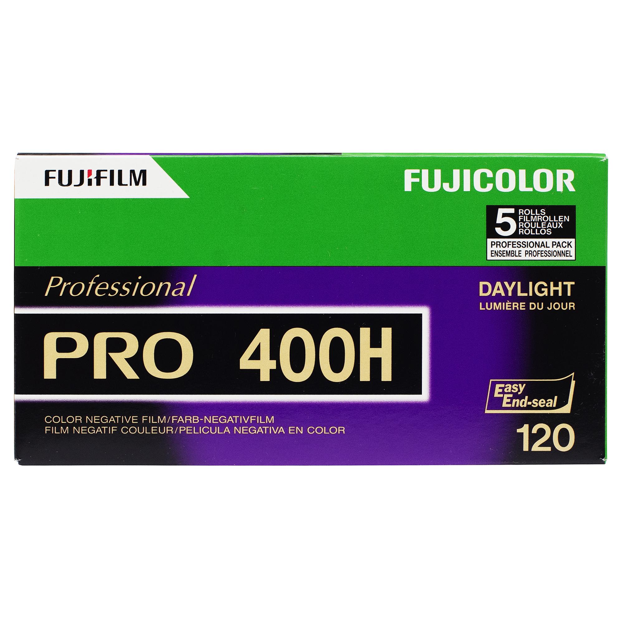 Fuji Pro 400H 120 medio formato película de impresión de color-uno 120 Rollo