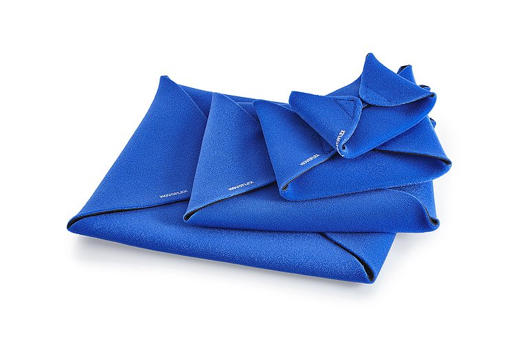 Bild 2 - NOVOFLEX Wrap M - Cloth Strech, Blue, 28x28cm