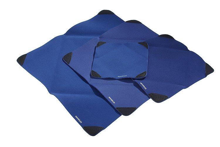 Bild 3 - NOVOFLEX Wrap M - Cloth Strech, Blue, 28x28cm