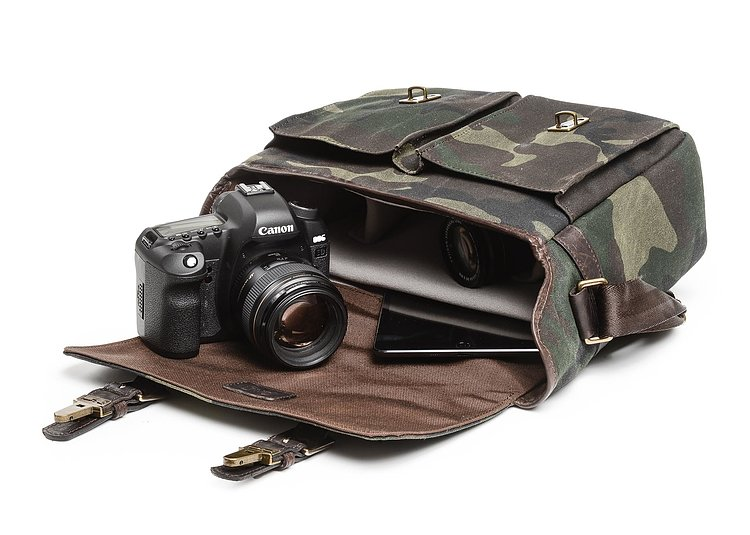 Bild 4 - ONA Prince Street Camouflage Camera Bag Limited Edition