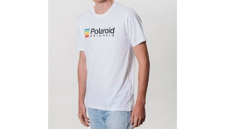 Bild 2 - POLAROID ORIGINALS T-shirt (white) with color logo - size L