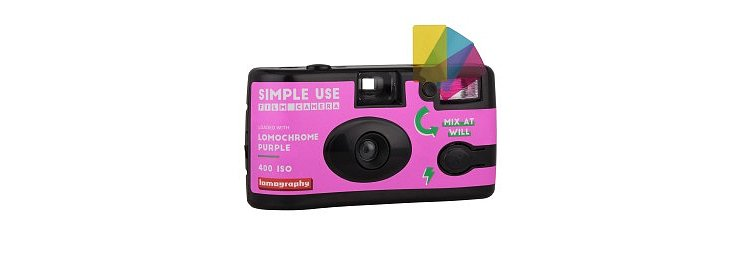 Bild 2 - LOMO Simple Use Film Camera LomoChrome  Purple