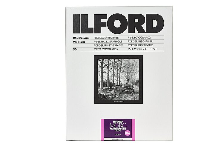 Bild 2 - ILFORD Multigrade V 1M - Hochglänzend (PE) - 24x30 / 50 Blatt - Gradation: Variabel - High Gloss (RC) - 24x30 / 50 Sheets - Gradation: Variable