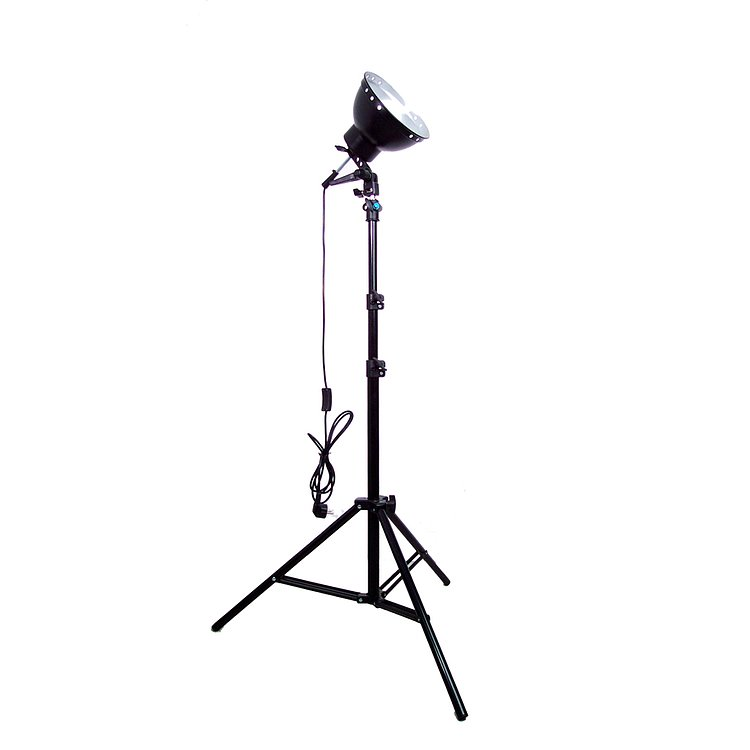 Bild 3 - ADOLIGHT 21cm Lamp With Lamp Socket And Metal Reflector
