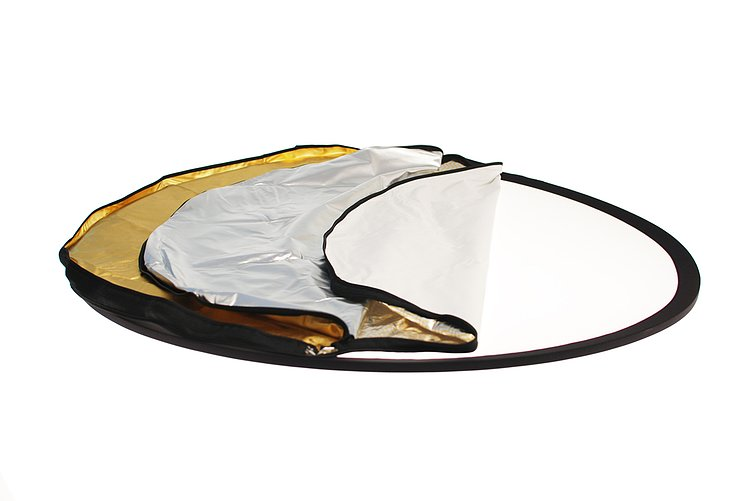 Bild 2 - ADOLIGHT Folding Reflector 5-In-1 With Reversible Cover 80 cm