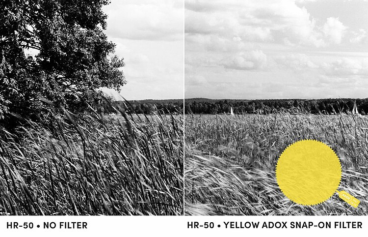 Bild 2 - ADOX M77 *SNAP-ON* yellow (8) gelatine filter