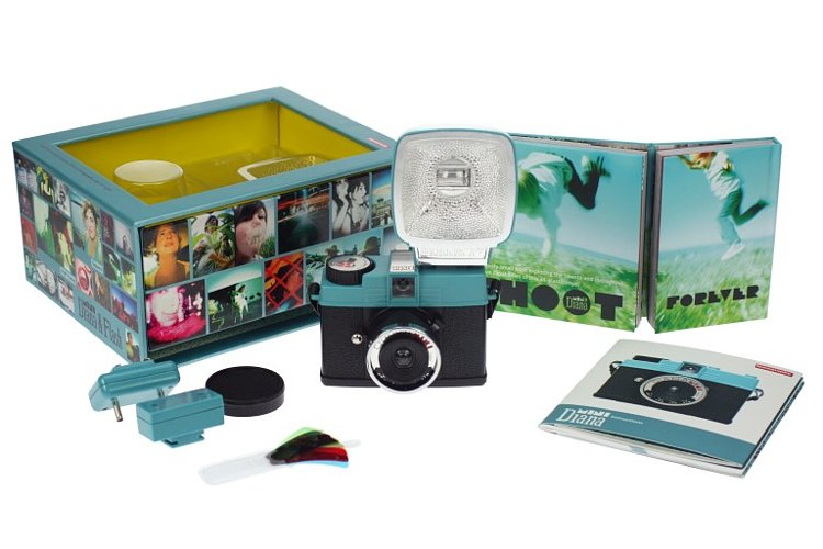 Bild 3 - LOMO Lomography Diana Mini And Flash Package