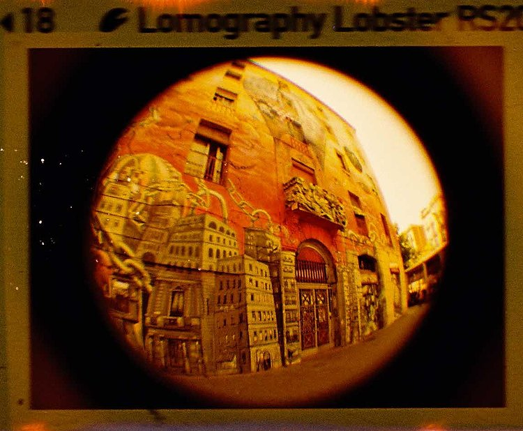 Bild 2 - LOMO Lomography: Lobster Redscale 110