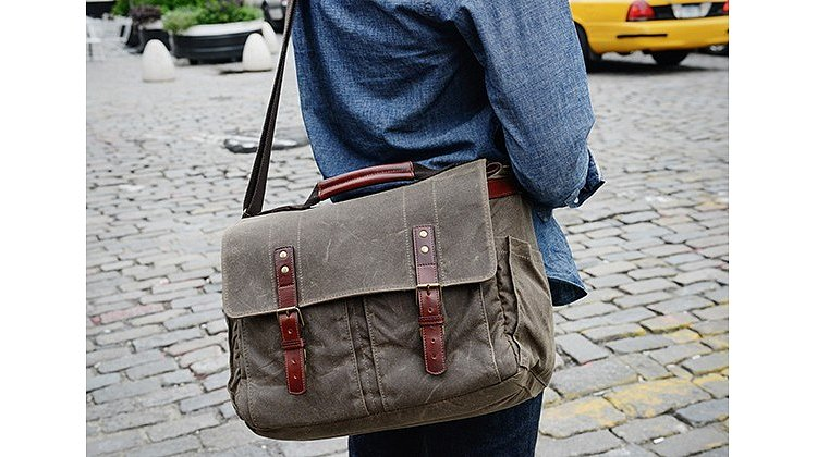 Bild 2 - ONA Astoria Camera Bag Dark Tan