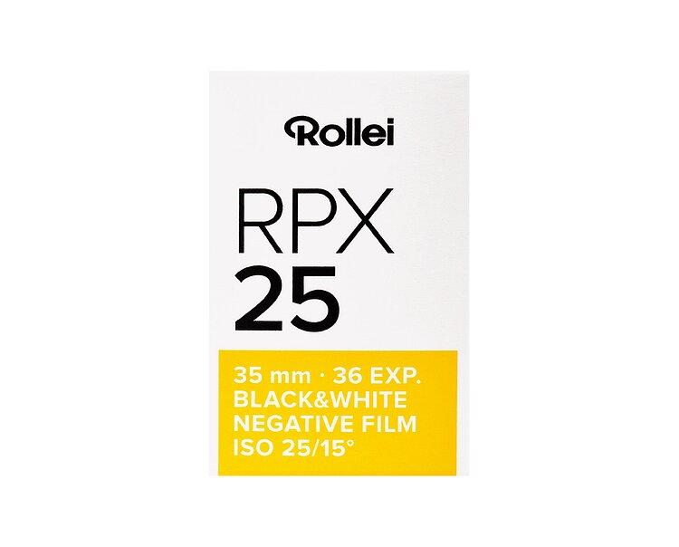 36 Exposure Rollei RPX 400 ISO Black /& White Film 35mm