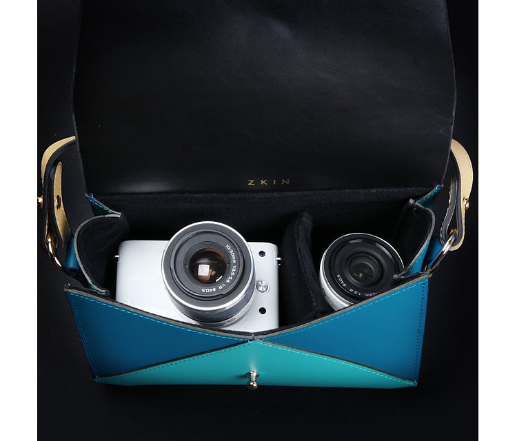 Bild 3 - ZKIN Harpy Camera Bag Aqua Blue