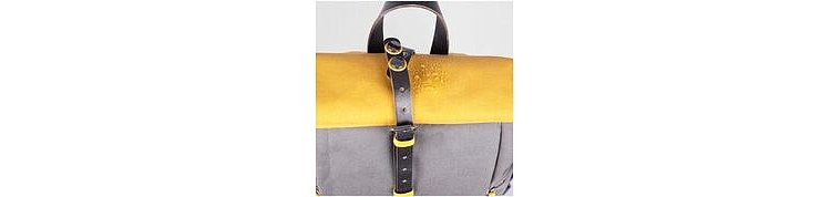 Bild 3 - ZKIN Getaway Yali Backpack Yellow Grey