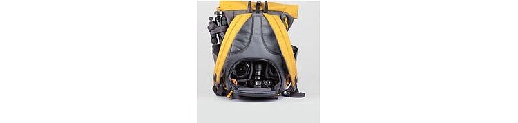 Bild 4 - ZKIN Getaway Yali Backpack Yellow Grey