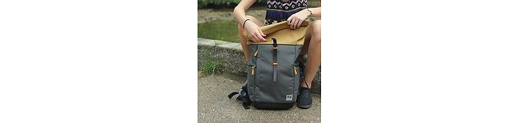 Bild 7 - ZKIN Getaway Yali Backpack Yellow Grey