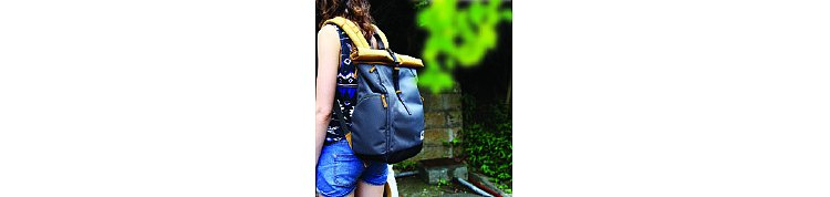 Bild 8 - ZKIN Getaway Yali Backpack Yellow Grey