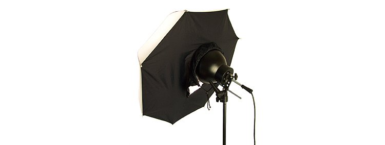 Bild 2 - ADOLIGHT Umbrella Softbox 70 cm