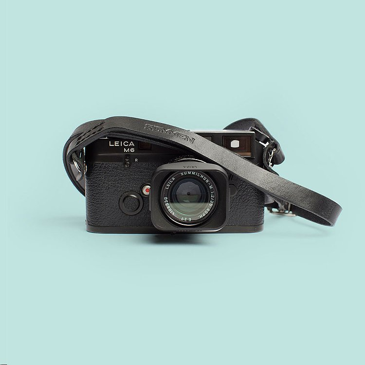 Bild 1 - REMMEN Remmen Leather Camera strap No.1 Black