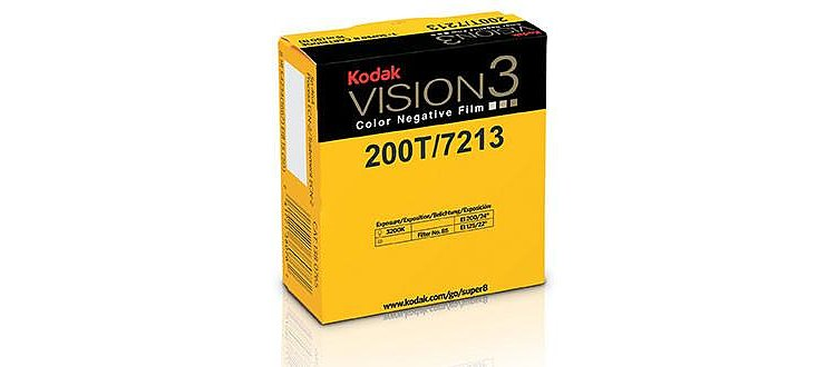Bild 1 - KODAK 200T Color Negative Film VISION3 7213, 50 ft Super 8 Cartridge