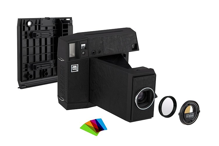 Bild 1 - LOMO Instant Square Camera Combo - Black