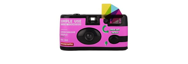 Bild 1 - LOMO Simple Use Film Camera LomoChrome  Purple
