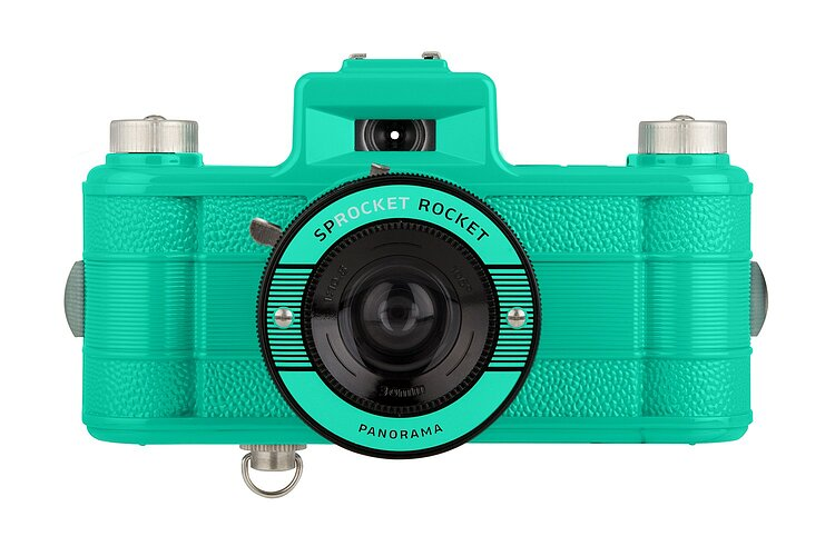 Bild 1 - LOMO Sprocket Rocket Teal 2.0