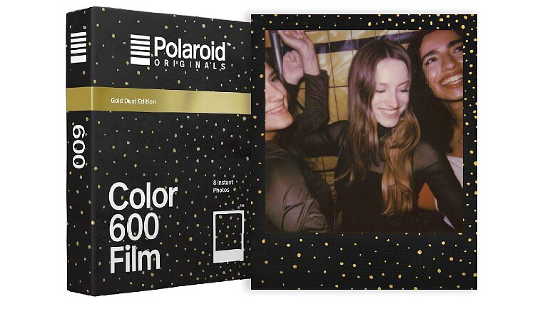 Bild 1 - POLAROID ORIGINALS Color Film for 600 Gold Dust Edition