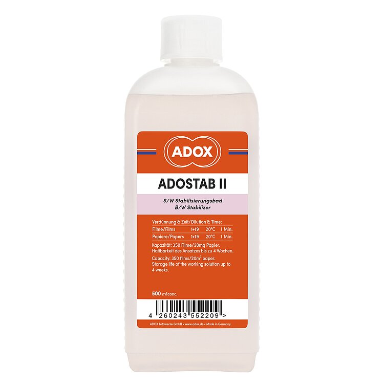 Bild 1 - ADOX ADOSTAB II Wetting Agent With Image Stabilliser 500 ml Concentrate