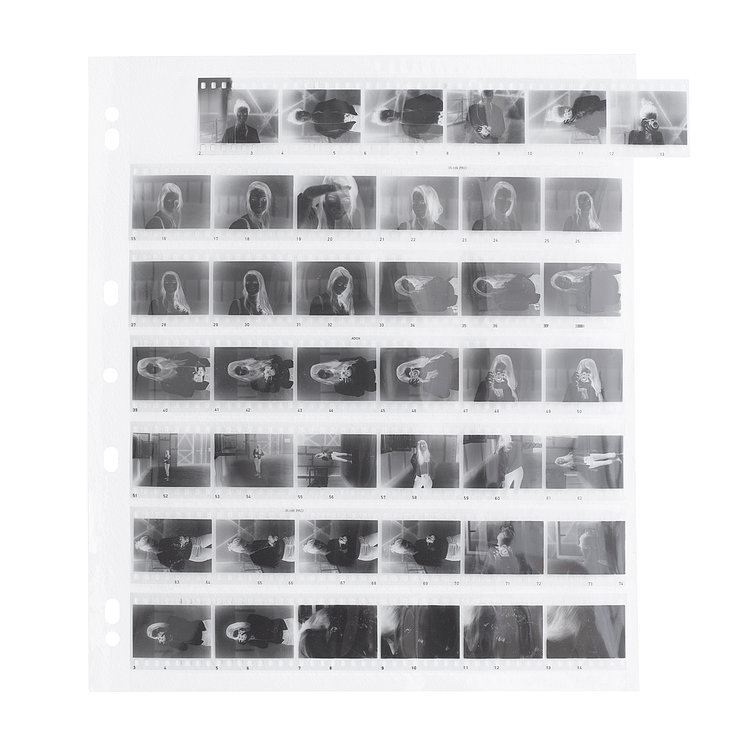 Bild 1 - ADOX Adofile Polypropylene Negative Sleeves 35mm Oversized
