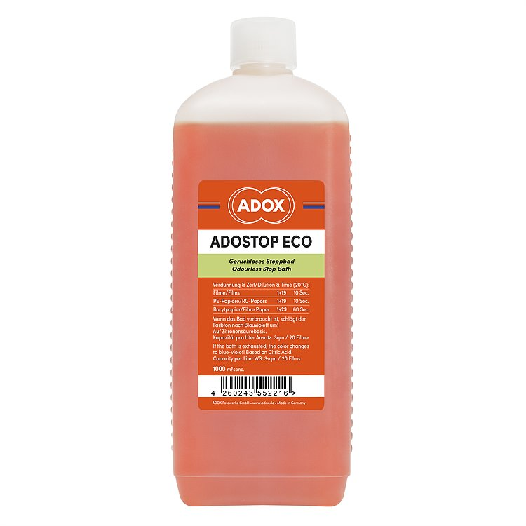 Bild 1 - ADOX ADOSTOP ECO Stopbath with Indicator 1000 ml Concentrate