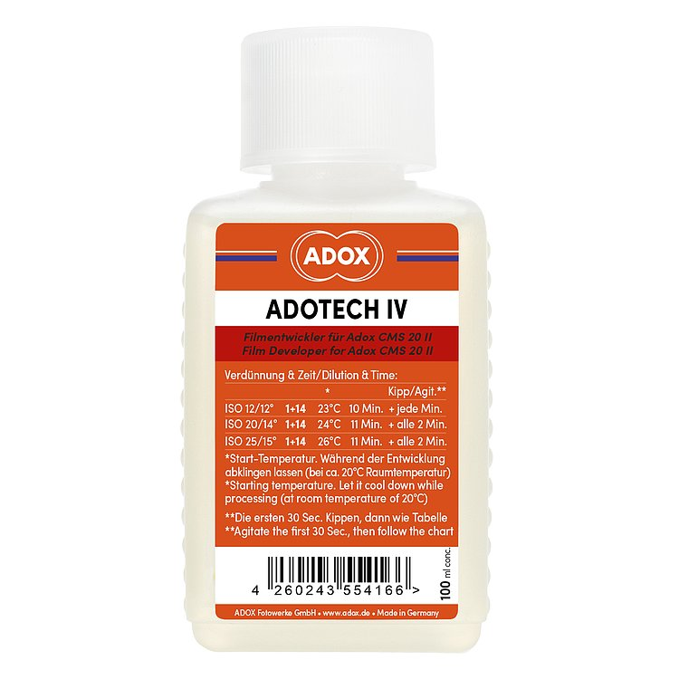 Bild 1 - ADOX Adotech IV for up to 6 35mm or 120 films