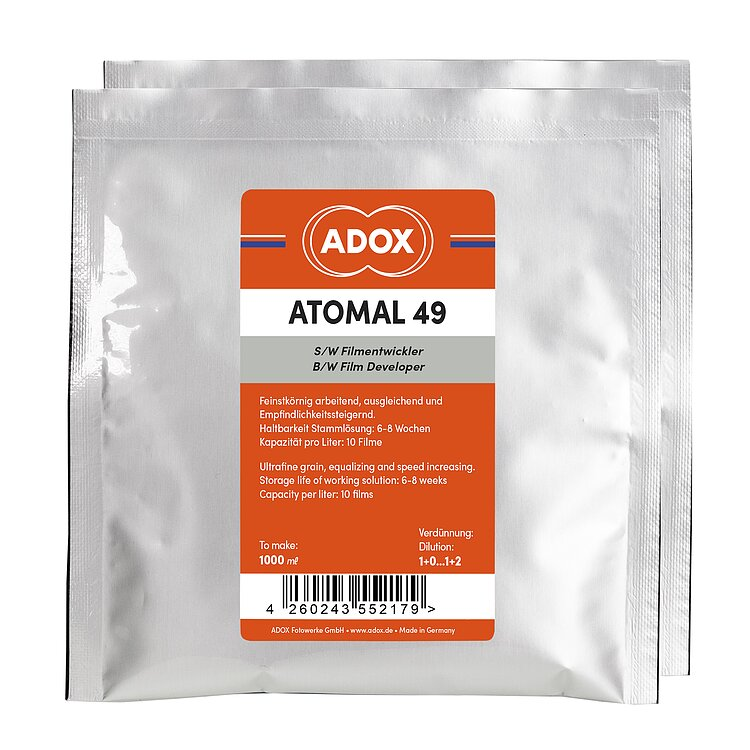 Bild 1 - ADOX ATOMAL 49 To Make 1000 ml / for 10 Films