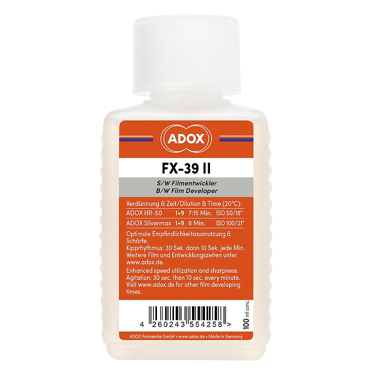 Bild 1 - ADOX FX-39 TYPE II 100ml Concentrate