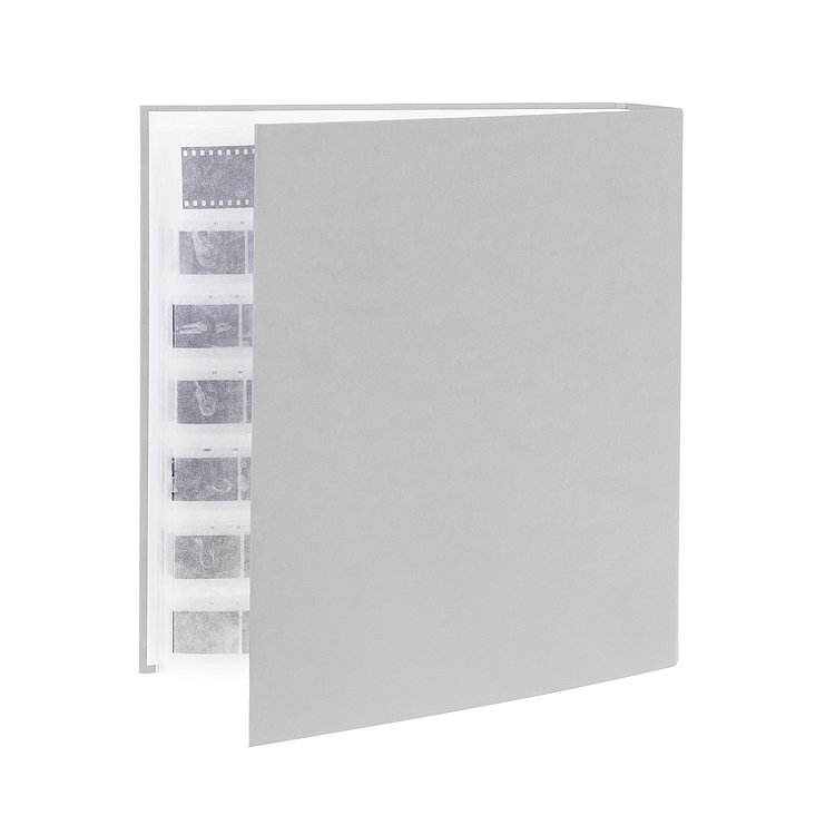 Bild 1 - FOTOIMPEX Archival binder for 200 sheets with dust protection box grey