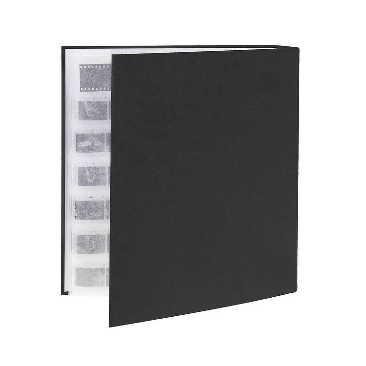 Bild 1 - FOTOIMPEX Archival binder for 200 sheets with dust protection box black