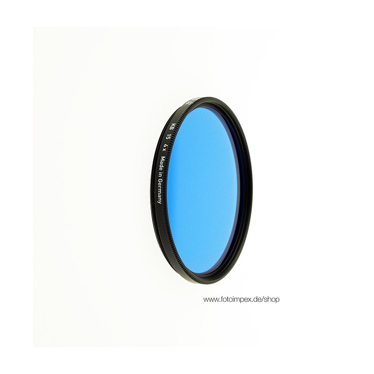 Bild 1 - HELIOPAN Filter KB 15 / 80 A - Diameter: 39mm