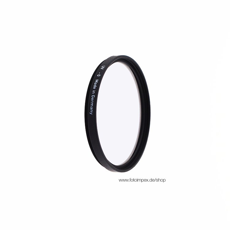 Bild 1 - HELIOPAN Filter UV-Haze Silver - Diameter: 37mm