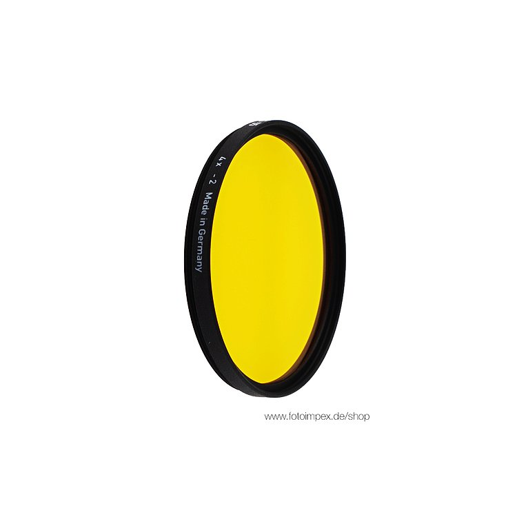 Bild 1 - HELIOPAN Filter Dark-Yellow (15) - Diameter: 49mm