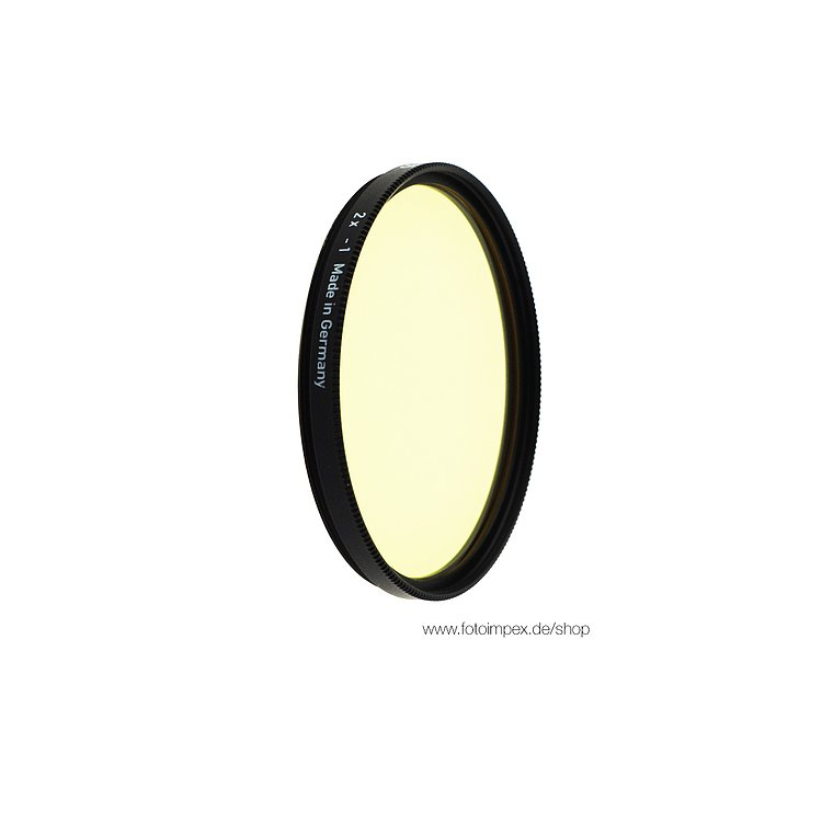 Bild 1 - HELIOPAN Filter Light-Yellow (5) - Diameter: 48mm