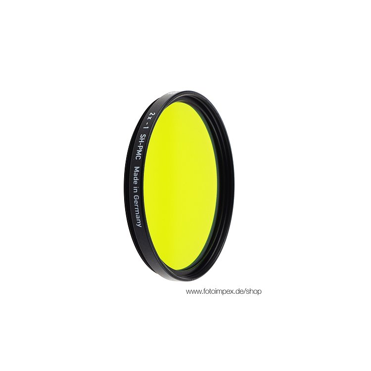 Bild 1 - HELIOPAN Filter Yellow-Green (11) - Diameter: 82mm