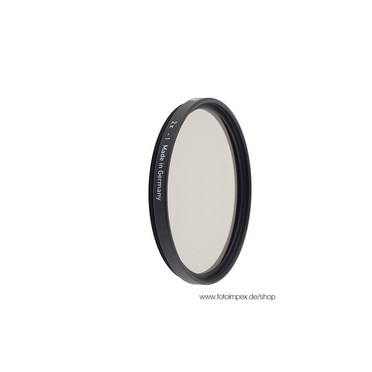 Bild 1 - HELIOPAN Filter Neutral Density 0,3 - Diameter: 62mm