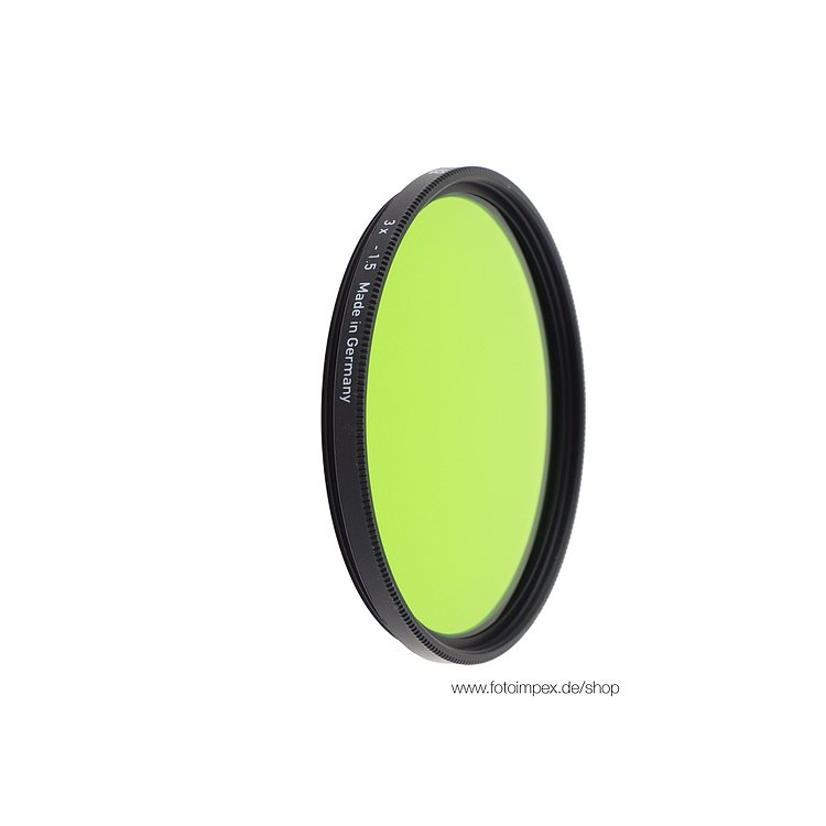 Bild 1 - HELIOPAN Filter Green (13) - Diameter: 30,5mm