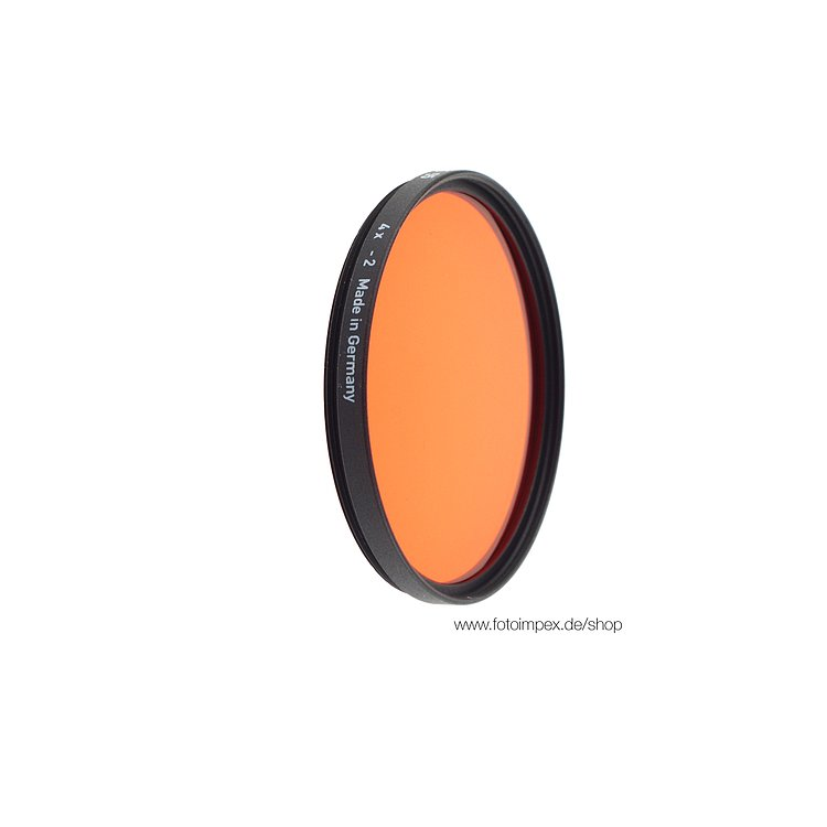 Bild 1 - HELIOPAN Orange (22) - Diameter: 77mm (SHPMC Specially Coated)