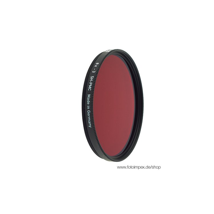 Bild 1 - HELIOPAN Dark-Red (29) - Diameter: 55mm (SHPMC Specially Coated)
