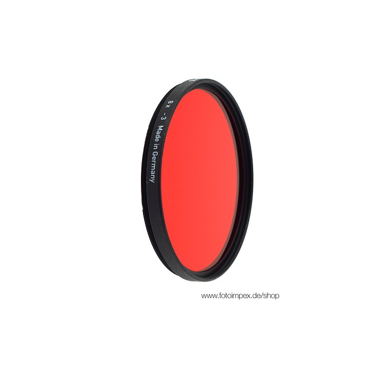 Bild 1 - HELIOPAN Filter Red-Light (25) - Diameter: 62mm