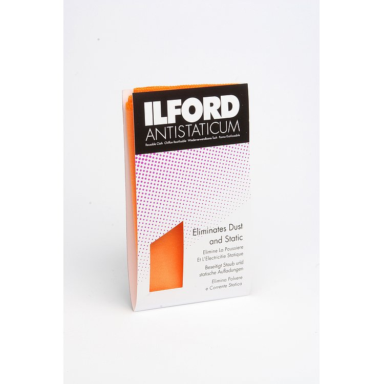 Bild 1 - ILFORD Labor-Antistatic Cloth (Orange)