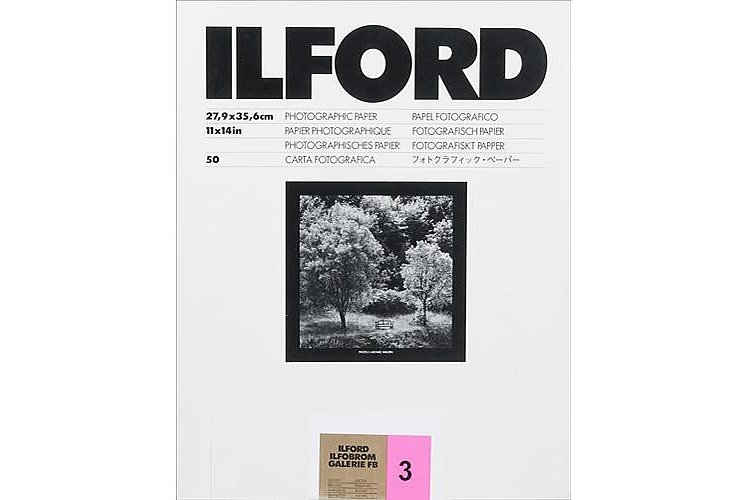 Bild 1 - ILFORD Ilfobrom Galerie FB Gradation 3 - Natural Gloss - 30x40 / 50 Sheets - Gradation: Normal (3)