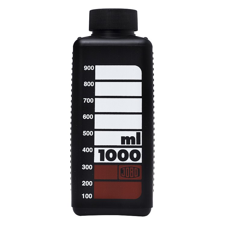Bild 1 - JOBO Wide-Neck Bottle 1000ml Black