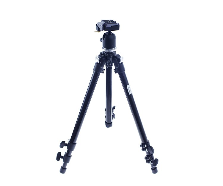 Bild 1 - ADOLIGHT Camera Tripod 130 cm With Small Ball Head And Quick Release Plate