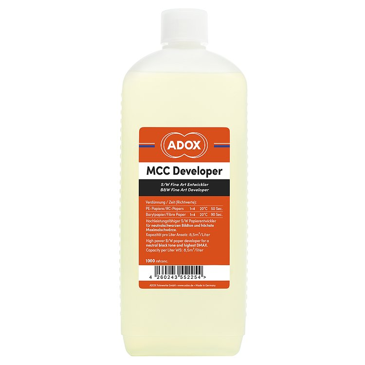Bild 1 - ADOX MCC Developer 1000 ml Concentrate