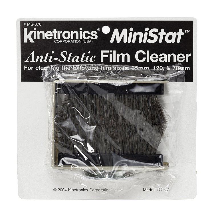 Bild 1 - KINETRONICS MiniStat Anti-Static-Film Cleaner MS-070 for films up to 70 mm wide (roll film 120/620)